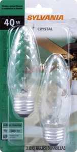 Sylvania/Osram/LEDVANCE 13785 40w Fan Bulb Crystal Flame Reg Base 2 Pack