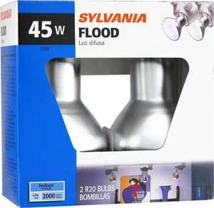 Sylvania/Osram/LEDVANCE 14997 45 Watt R20 Reflector Lamp Frost Incendescent Bulb