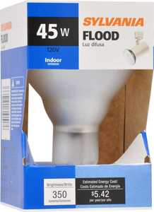 Sylvania/Osram/LEDVANCE 15103 45w Incandescent Bulb Indoor Clear Flood