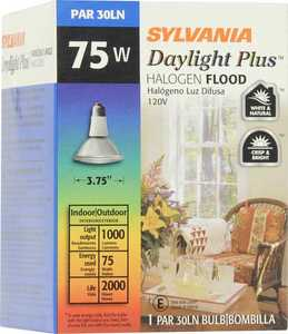 Sylvania/Osram/LEDVANCE 15228 75w Halogen Bulb Day Flood 4 In 1pk