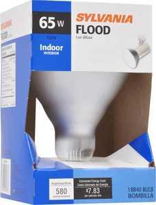 Sylvania/Osram/LEDVANCE 15678 65 Watt Br40 Reflector Lamp Frost Incandescent Bulb