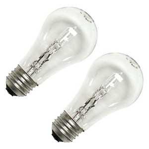 Sylvania/Osram/LEDVANCE 52549 Clear Tungsten Halogen Lamp 28w 2pack