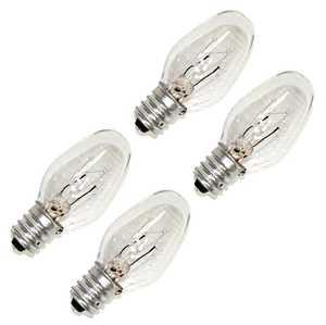 Sylvania/Osram/LEDVANCE 13523 Clear Incandescent Lamp 4w 4pack