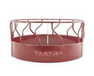 Tarter Farm and Ranch RFM Feeder Hay Red 8 ft 3-Pc. W/Metal