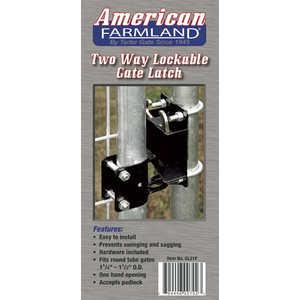 Tarter Farm and Ranch GL21P Latch Gate Lockable 2Way
