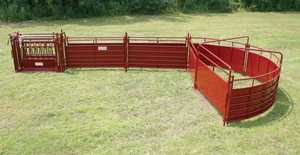Tarter Farm and Ranch SSS Complete Sweep Sheeted System 180x20 Cattlemaster