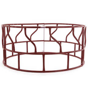 Tarter Farm and Ranch RF Red Round Bale Feeder