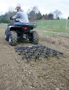 Tarter Farm and Ranch ATVH44 Chain Harrow W/4 ft Drawbar
