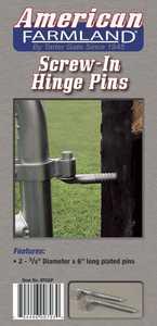 Tarter Farm and Ranch HPG6P Hinge Pin 5/8x6 Gal v 2pk