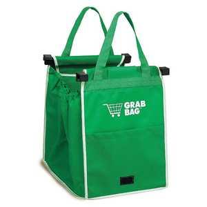 Telebrands 8991-6 Grab Bag Reusable Shopping Bag, 2 Pack