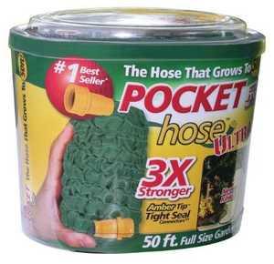 Telebrands 7809-24 Pocket Hose Ultra 50 ft