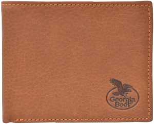 Georgia Boot GBW176 4-1/2-Inch X 3-3/4-Inch Light Brown Bifold Wallet