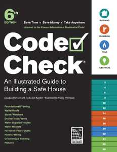Taunton Trade 71246 Code Check An Illustrated Guide To Building A Safe House 6th Edition