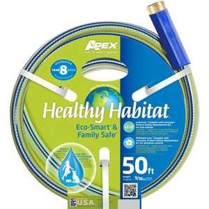Teknor Apex Company 6336-50 Healthy Habitat Hose 9/16x50 ft
