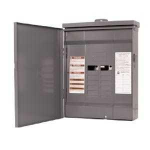 Square D HOM816L125RB Homeline Main Lug Outdoor 125Amp