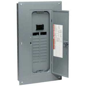 Square D HOM20M100C Homeline Load Center With Main Breaker Indoor 100a
