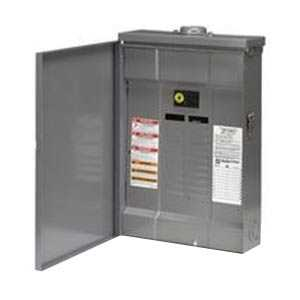 Square D QO112M100RB Qo Load Center With Main Breaker Outdoor 12Cir 100a