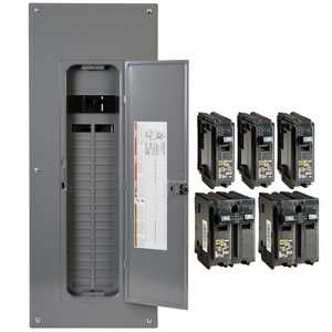 Square D HOM4080M200PCVP 200 Amp 40-Space 80-Circuit Indoor Main Breaker Load Center, Value Pack