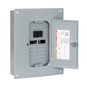 Square D HOM1224M100PC Homeline 100 Amp 12-Space 24-Circuit Indoor Main Load Center