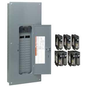 Square D HOM3060M200PCVP Homeline 200 Amp 30-Space 60-Circuit Indoor Main Load Center