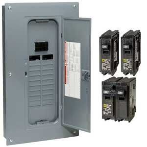 Square D HOM2040M100PCVP 100 Amp 20-Space 40-Circuit Main Breaker
