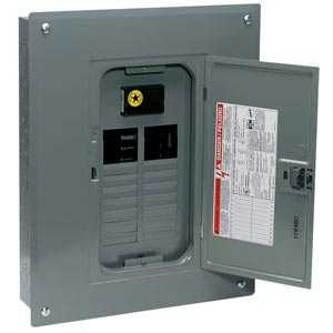 Square D QO120M100C Qo Main Breaker Load Center 20 Flush 100a