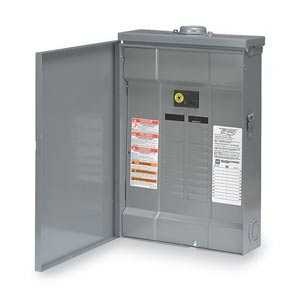 Square D QO120M100RB Qo Load Center With Main Breaker 20 Space Outdoor 100a