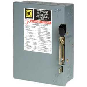 Square D D211NCP Switch Plug Fuse 250v 30amp