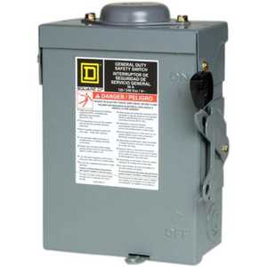 Square D D221NRBCP Switch Cartridge Rt 30amp