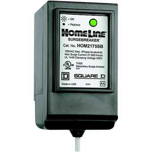 Square D HOM2175SB Homeline SurgeBreaker Secondary Surge Protective Device 2 Spaces