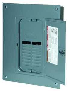 Square D QO11224L125GC Qo 125a 12-Space 24-Circuit Indoor Main Lugs Load Center With Cover And Ground Bar