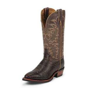 Tony Lama Boots 7951 Men's Java Conquistador Shoulder Americana Western Boots 11.5d