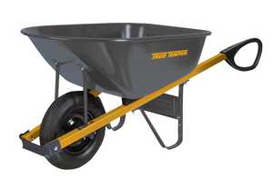Ames/True Temper R6TC14 6 Cu. Ft. Steel Wheelbarrow With Total Control Handles