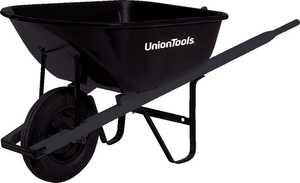 Union Tools S6U25 6 Cu. Ft. Steel Wheelbarrow