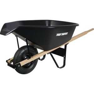 Ames/True Temper CP6PS 6 Cu. Ft. Wheelbarrow With EZ Pour Spout