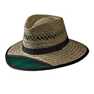 Turner Hats 20003 Green Visor Hat M