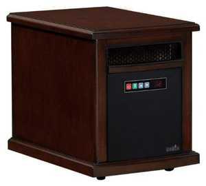 Twin-Star International 10HM1342-C232 Portable Infrared Quartz Heater Colby Empire Cherry