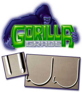 THE MONKEY HOOK, LLC M-GS100-024 Gorilla Grade Monkey Hook 2 Piece