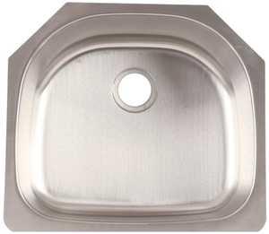 FrankeUSA FSU117 Stainless Steel Single Bowl Undermount Kitchen Sink