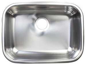 FrankeUSA FSUG900-18BX Stainless Steel Single Bowl Undermount Kitchen Sink