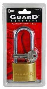 Howard Berger/Ultra Lock 626LS 2-Inch Solid Brass Long-Shackle Padlock