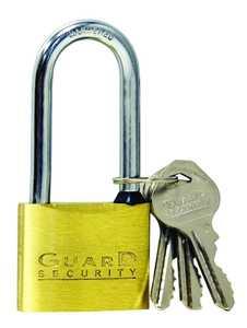 Howard Berger/Ultra Lock 625LS Padlock Brass Solid L/S 13/4 in