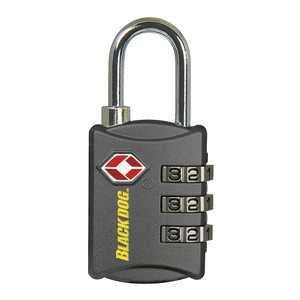 Howard Berger/Ultra Lock 55146 Padlock Comb Tsa 3dial Black