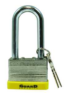 Howard Berger/Ultra Lock 750LS Guard Security 750ls Laminated Steel Padlock With 2-Inch Long Shackle