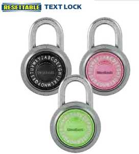 Howard Berger/Ultra Lock PL-109-A1 Lock Combo Text Resettable