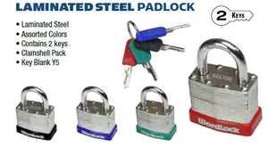 Howard Berger/Ultra Lock PL-118-A1 Padlock Laminated Match