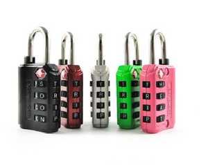 Howard Berger/Ultra Lock LL-277-A1 Wordlock 4-Dial Luggage Lock