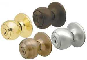 Howard Berger/Ultra Lock 43289 Passage Ball Antique Brass