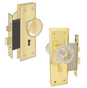 Howard Berger/Ultra Lock 44621 Lock Mortise Skeleton Entry Key Glass
