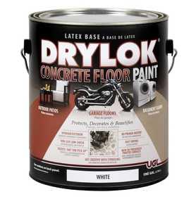United Gilsonite Laboratories 21213 Drylok Concrete Floor Paint Latex White Gallon